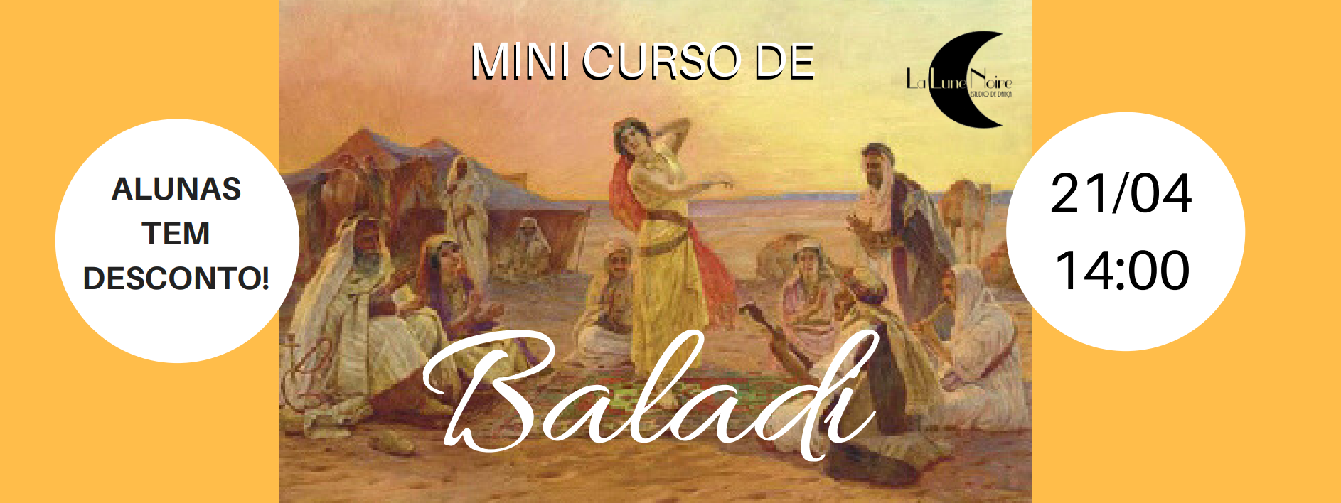 21/04 – Mini Curso Baladi
